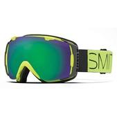 SMITH I/O Snow Goggles, Acid Block/Green SOL-X