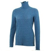 Sno Skins Tweedy Sweater Knit Turtleneck (Women's)