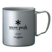 Snow Peak Double Walled Cup 450 - Titanium
