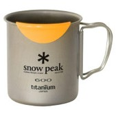 Snow Peak HotLips Titanium Single Wall Cup 600