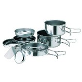 Snow Peak Personal Cooker 3 - Stainless Steel