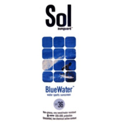 Sol Sunguard Bluewater SPF 36 32 oz Pump Bottle