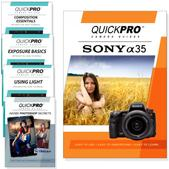 Sony A35 DVD 5 Pack Intermediate Plus Instructional Bundle