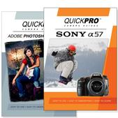 Sony A57 DVD 2 Pack Adobe Instructional User Manual Bundle