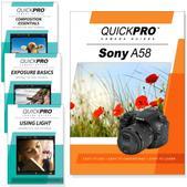 Sony A58 4PK DVDs Core Plus Fundamentals Training Bundle