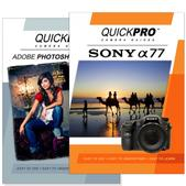 Sony A77 DVD 2 Pack Adobe Instructional User Manual Bundle
