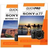 Sony A77 DVD 2 Pack  Beyond the Basics Instructional Manual Bundle