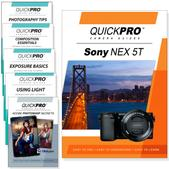 Sony NEX 5T 6PK DVDs Complete Fundamentals and Advanced Training Bundle