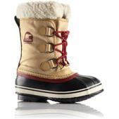 Sorel Children`s Yoot Pac Nylon Winter Boot (CURRY / RED DAHLIA, 12)