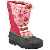Sorel Infant Cub Graphic 13 Winter Boots - Coral Pink / Green Tea
