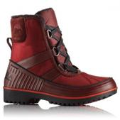 Sorel Women`s Tivoli II Canvas Boot (RED DAHLIA, 8)