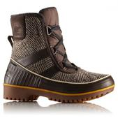 Sorel Women`s Tivoli II Herringbone Boot (CORDOVAN, 7.5)