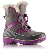 Sorel Youth Trivoli II Winter Boot (LIGHT GREY, 1)