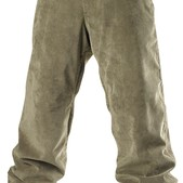 Special Blend 5 Pocket Freedom Snowboard Pants Burnt Greens Corduroy - Men's