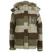 Special Blend Avalon Snowboard Jacket Earth Big Stripes