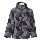 Special Blend Control Snowboard Jacket Black Check Splash