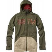 Special Blend Double Team Bonded Fleece Burnt Greens/Tan Lines