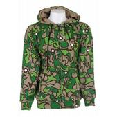 Special Blend Fader Flage Hoodie Green Fader Flage