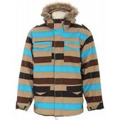Special Blend Gunner Snowboard Jacket Tan Threepeat