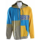 Special Blend Mix Up Zip Hoodie Burst