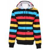 Special Blend Prime Time Zip Hoodie Primetime Stripe
