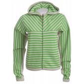 Special Blend Stripe Zip Hoodie Topiary Strp