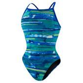 Speedo Color Stroke Fly Back Swimsuit - Women's Size 30 Color Deep