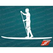 Sportstickers Sup, White