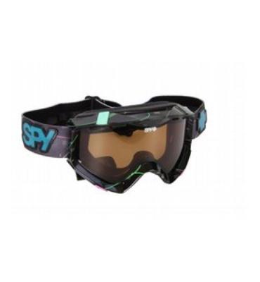 Spy Zed Snowboard Goggles Shiny Block Prt/Bronze Persimmon Lens