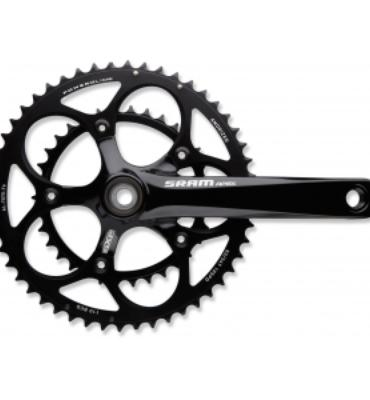 SRAM Apex 50/34 Crankset with GXP Bottom Bracket - 172.5mm / 175mm 172.5 Mm