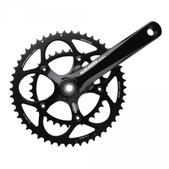 SRAM Apex Double Bicycle Crankset and Bottom Bracket Size 39/53-165mm Color Black