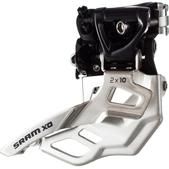 SRAM X0 2x10 High Clamp Compact 39t Max Front Derailleur