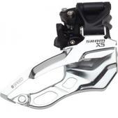 SRAM X5 Hi Clamp Dual Pull  3 x 9 31.8/34.9 Front Derailleur Black