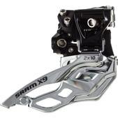 SRAM X9 2x10 High Clamp Front Derailleur