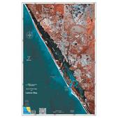 Standard Mapping Service Lemon Bay, Florida Laminated Map