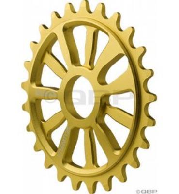 Stolen 7075 Eternity Ring Chainwheel Gold 25T