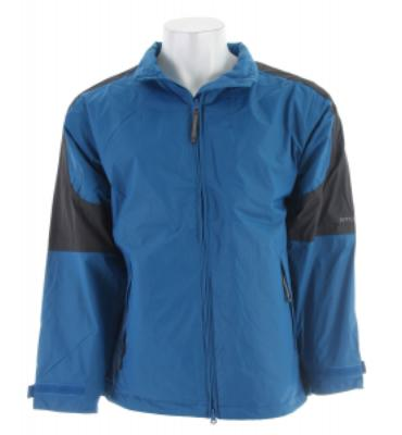 Stormtech Nautilus Packable Storm Jacket Cool Blue/Granite