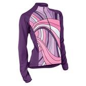 Sugoi Women's Souchi Hooded Long Sleeve Cycling Jersey