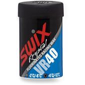 Swix VR40 Blue Fluorinated Hard Kick Wax - 45g