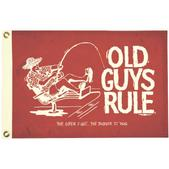 Taylor Made Old Guys Rule Novelty Flag - The Older I Get