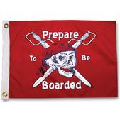 Taylor Made Prepare To Be Boarded Pirate Flag, 24 x 36