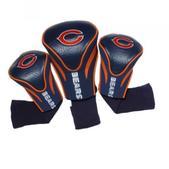 Team Golf Chicago Bears 3Pk Contour Sock Headcovers 30594