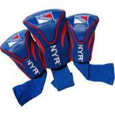 Team Golf New York Rangers 3Pk Contour Sock Headcovers 14894