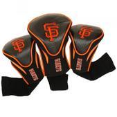 Team Golf San Francisco Giants 3Pk Contour Sock Headcovers 97394