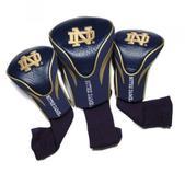 Team Golf University of Notre Dame 3Pk Contour Headcovers 22794