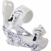 Technine Coulter Pro Military Snowboard Bindings White Paisley - Men's