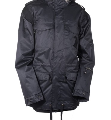 Technine Gooner Military Shell Snowboard Jacket Black - Men's