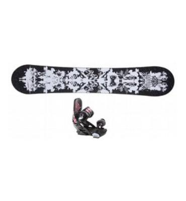 Technine Icon Series Snowboard & Binding Package