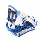 Technine MFM Classic Snowboard Bindings White/Blue