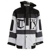 Technine Rugby Shell Snowboard Jacket White